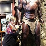 Penny with Lurtz at Weta Cave, Miramar
