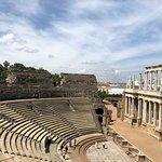 Roman Theater (Teatro Romano)-bild