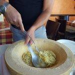 Preparando la pasta