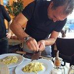 Trufando la pasta
