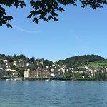 Lake Lucerne ภาพถ่าย