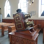 Magic lantern in the Pit Hill Methodist Chapel