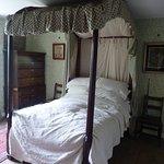 Bedroom inside Pockerley Manor