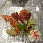 Gravlax de thon et saumon