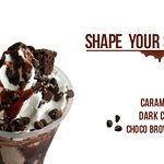 Shape your Shake at The Thick Shake Factory Pondicherry