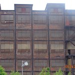 Picture of one of the remaining buildings of the Bethlehem Steel Plant