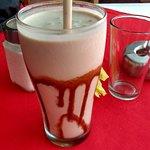 Banana chocolate shake!!! soo yumm...
