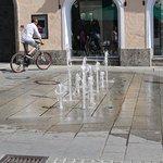 фонтаны на улицах города
