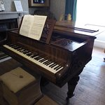 Holst's piano, at which he composed The Planet Suite.