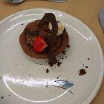Tartaleta de chocolate y caramelo