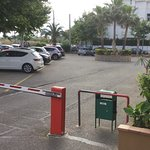 Car park - at a charge -free for bicycles