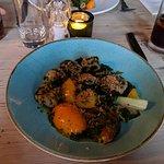 Spinach & ricotta dumplings
