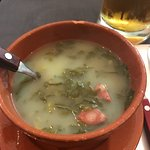 Forret en mættende grøntsags suppe