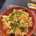 Bacalao salat - lækkert!!