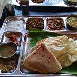 Thali Meal - lots of food
