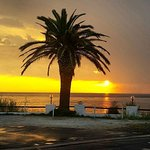 Sunset at #Civitavecchia, Port of #Rome, #portofrome