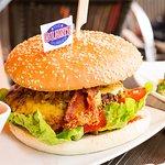 new york burger  !
