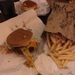 Burgers and fries!!!