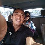 driving to Ubud tegal lalang