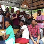 Baristas in training from all over Rwanda come to visit our shop