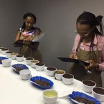 Learning about coffee from all corners from Rwanda