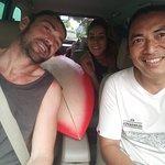 driving to Ubud from Kuta beach