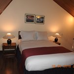 Upper Double Bed Inside the Suite room