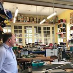 The shop where gorgeous leather products are made
