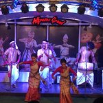 Stage where performances happen, this is Bihu in action.