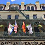 Antoine's Restaurant in the French Quarter - one of the oldest family-run restaurants in the US
