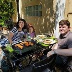 Barbecue en terrasse