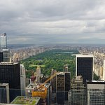 View of Central Park 'the lungs of New York' from atop Top of the Rock