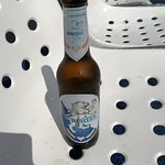 The local brew of choice on the boat