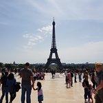 Eiffel Tower: from Trocadero