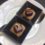foie gras caramélisé