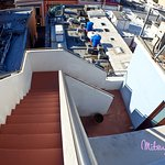 Roof top stairs