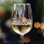 White wine at Patio 850