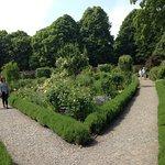 Inside walled garden