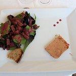 Hotel Joly: foie gras et allumettes de canard
