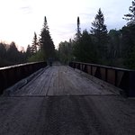 """Part of the """"Old railway trail"""""""