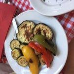 gegrilltes Gemüse als Beilage