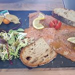 Saumon frais mariné aux 3 poivres