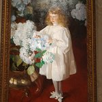 Another Sargent: Helen Sears (1895) The whites are so bright!