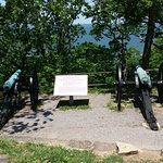 Canons used during the battle of Chattanooga.