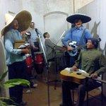 Goan musicians with original instruments