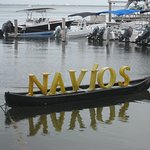 Navios restaurant sign - Cancun Mexico