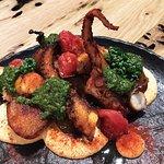 美味又美觀的章魚配馬鈴薯