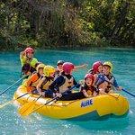 Rafting en el río el salto