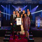 Wining The Scottish Food Award - World Cuisine Chef of the year -2018