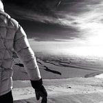 Snowshoeing near Lake Superior